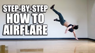 "How to Airflare Tutorial - ""Breakdance"" Powermove"