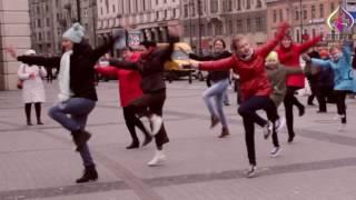 Namaste Russia. Bollywood flashmob in St-Petersburg by SATRANGI, april 2017