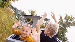 Gruvbanan Rollercoaster at Skara Sommarland
