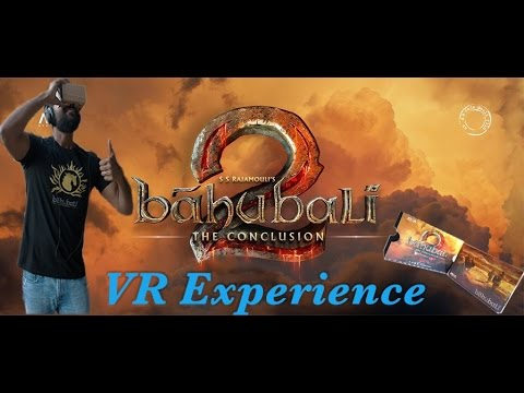 Baahubali VR Real Time Experience