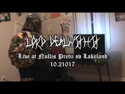LORD DEALWITHIT LIVE @ NULLIS PRETII 10.21.17 ~REBIRTH~ NEW SONGS WOW *VERY EMOTIONAL SWAG*