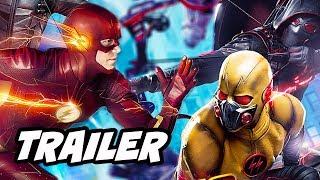 The Flash Season 4 Arrow Supergirl Crossover Trailer 2 Breakdown