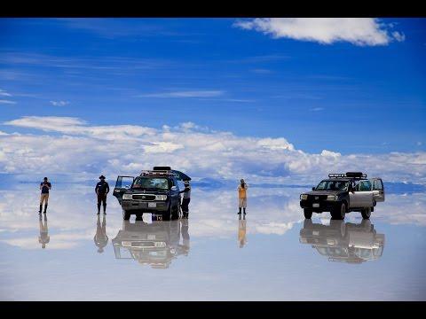 WORLD S BIGGEST MIRROR Uyuni Salt Flats Bolivia