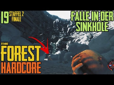 Xxx Mp4 The Forest 19 ☠ FINALE FALLE In Der SINKHOLE 💀 Staffel 2 Hardcore Forest Multiplayer COOP 3gp Sex