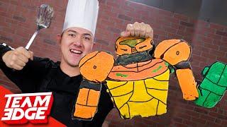We Made GIANT Super Smash Bros Pancake Art!