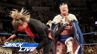 "Jerry ""The King"" Lawler gets crowned by Ziggler on ""King"