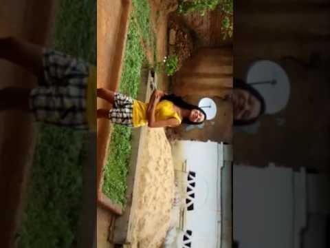 rita rana jharsuguda dance in rain