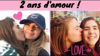2 ANS D'AMOUR | COUPLE LESBIEN