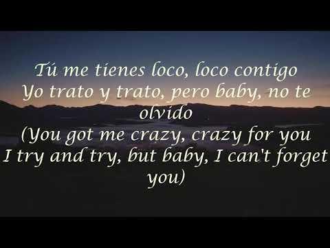 Loco contigo Dj snake J Balvin Lyrics with english translation