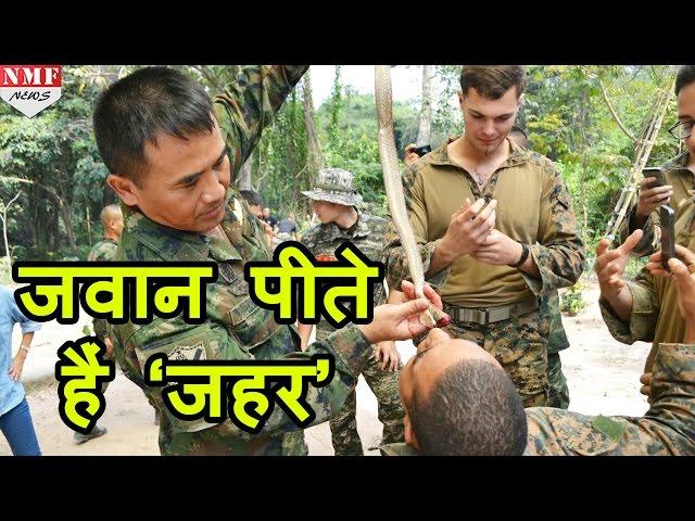 рдЬрд╡рд╛рдиреЛрдВ рдХреА рд╕рдмрд╕реЗ рдХрдард┐рди training, Cobra gold, BSF Training