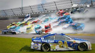 Huge Pileup!!!   Forza Motorsport 7   NASCAR