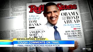 President Obama Calls Mitt Romney a BS-er in Rolling Stone Interview: Loose Talk on Campaign Trail