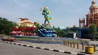 Atlantis land terbaru di Kenpark surabaya || Pantai kenjeran