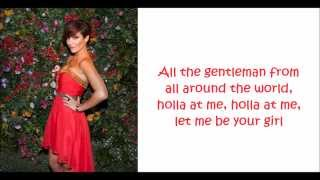 The Saturdays - Gentleman Lyrics