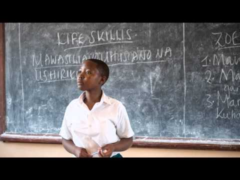 The Sega Girls School 2012 - giving vulnerable Tanzanian girls belief in themselves