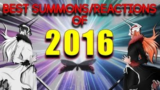 Bleach Brave Souls - BEST SUMMONS/REACTIONS OF 2016