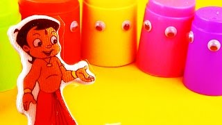 Chhota Bheem & Friends Mighty Raju Surprise Stacking Cups Eggs
