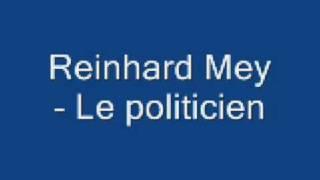 Reinhard Mey - Le politicien