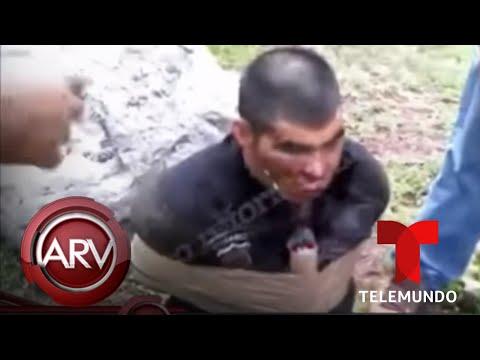 Grupo sicario dinamita a uno de sus enemigos en México Al Rojo Vivo Telemundo