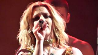 Britney Spears - Don't Let Me Be The Last To Know - live Sheffield 5 november 2011 - HD