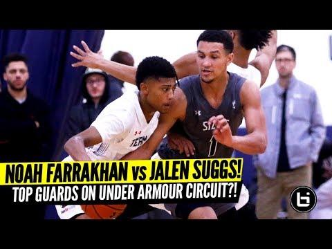 Jalen Suggs vs Noah Farrakhan Top Guards Battle at UAA I Full Highlights