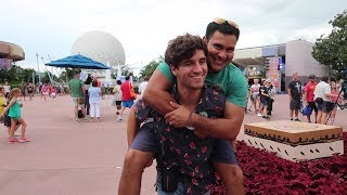 A Birthday Trip To Epcot For Food And Wine With Jorge And Kelly!