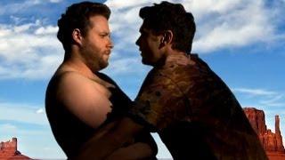 Seth Rogen & James Franco Making Out -  Bound 3 (Spoof)