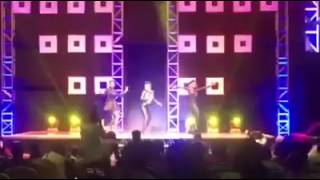 Anne Kansiime Dancing to Nkwatako by Sheebah Karungi at Africa Laughs Season 3   YouTube