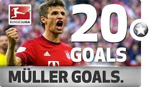 Thomas Müller - All Goals 2015/16