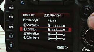 إعدادات تصوير الفيديو لكاميرات الدي اس ال ار