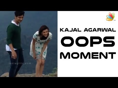 Kajal Agarwal's Oops moment at Mountain peak  | Jeeva | Hot Cinema News