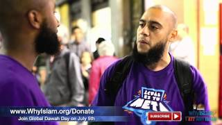 Dawah in the Busy Streets of Brazil | WhyIslam FIFA Highlights #10