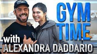 Baywatch Abs with Alexandra Daddario | Gym Time w/ Zac Efron
