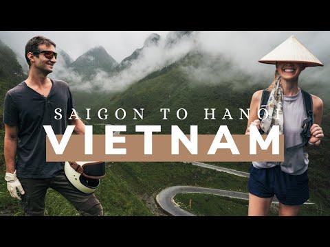 MOTORBIKE VIETNAM SOUTH TO NORTH Travel Documentary