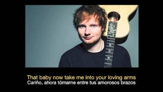 Ed Sheeran   Thinking Out Loud -  letra - español - ingles