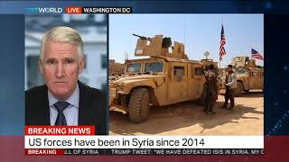Retired Brigadier General Mark Kimmitt discusses US and Syria