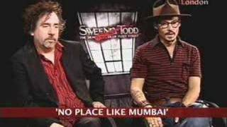 Johnny Depp candid about Shantaram
