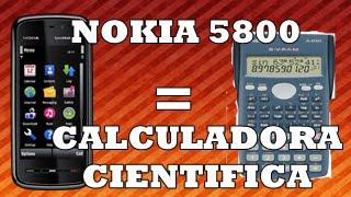 Calculadora Cientifica para Nokia 5800, 5530, 5230 y X6
