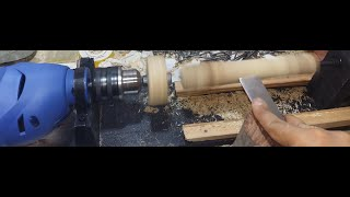 How to Make a Mini LATHE MACHINE at Home (It's Interesting and Funny)
