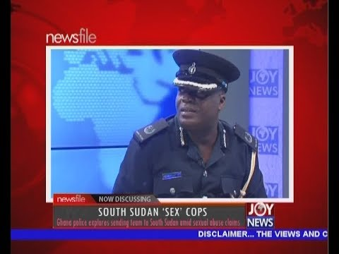 South Sudan 'Sex' Cops – Newsfile on JoyNews (3-3-18)