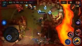 Heroes of Soulcraft (HOS) Gameplay Video 4vs4!