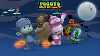 Pocoyo Space Halloween 2015 - 40 minutes of spooky adventures for kids!