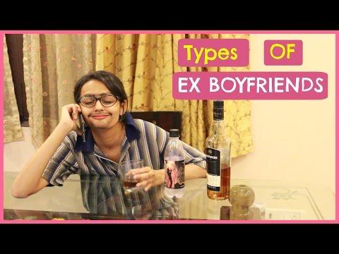 Types of Ex Boyfriends