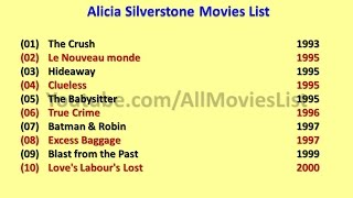 Alicia Silverstone Movies List