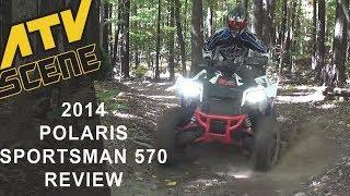 2014 Polaris Sportsman 570 Review