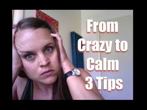 how to be a calm mother