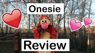 AliExpress Tigger Onesie Review | LoRayofSunshine | OMMyGoshTV