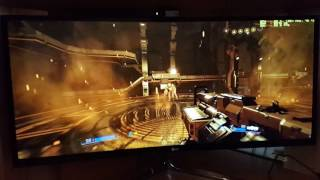 DooM 2016: Off-Screen Gameplay LG 34uc97 3440x1440