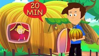 Peter Peter Pumpkin Eater | Nursery Rhymes & Kid's Songs | 3D Animation English Nursery Rhymes |