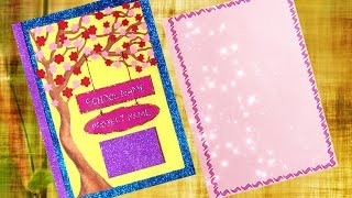How to decorate project files with cover page and Border || Cover page decoration.